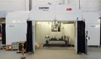 Robot welding –  FlexArc® robot welding unit from ABB